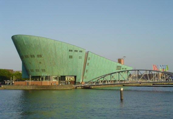 Музей NEMO. Амстердам