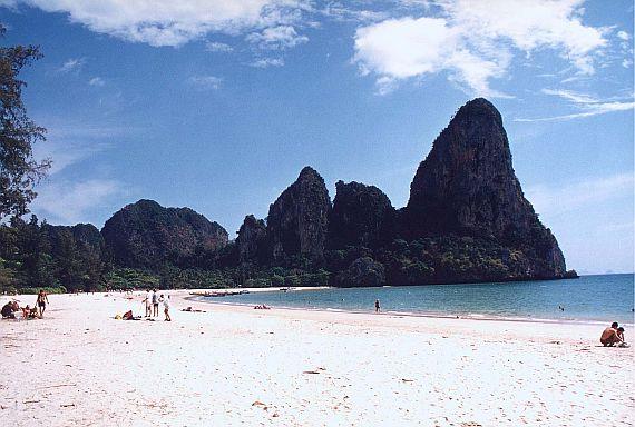 Остров Краби на пляже
