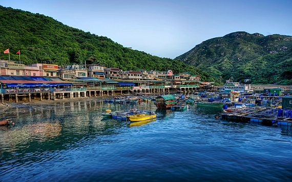 Остров Ламма в Гонконге