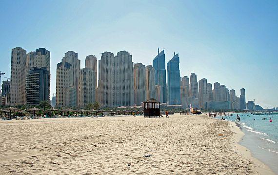 Отдых в Арабских Эмиратах, пляжи