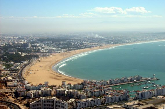 Отдых в Марокко пляж