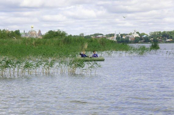 Озеро Неро рыбалка