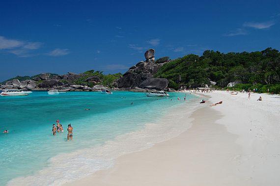 Симиланские острова пляж