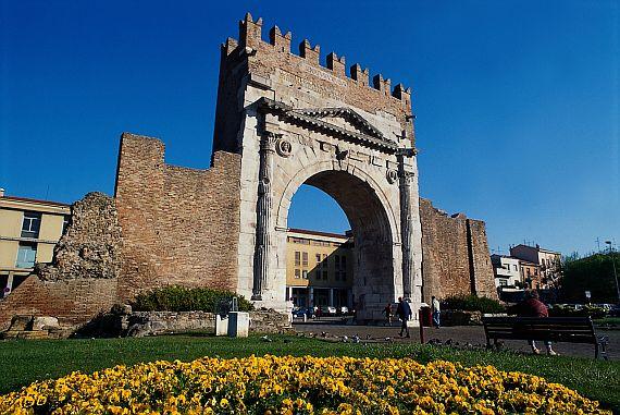 триумфальная арка Августа