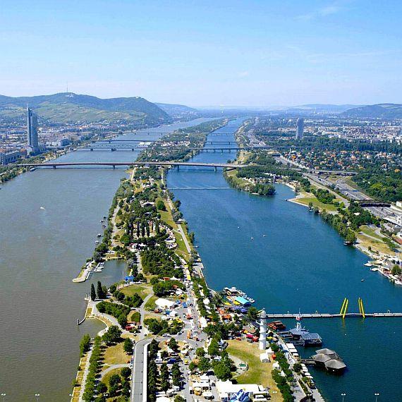 Дунайский остров. Донауинзель