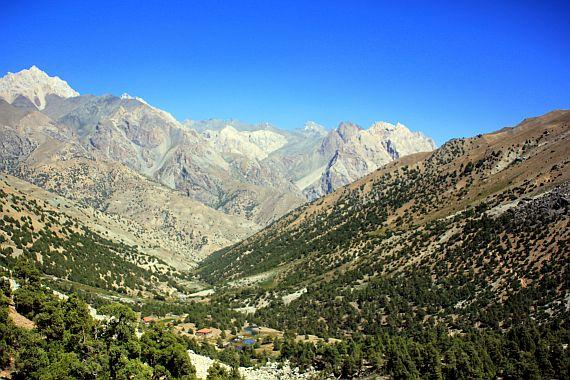 Фанские горы или Фаны