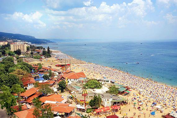 Курорт Золотые пески. Болгария