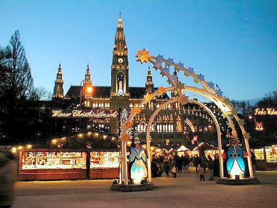 Новогодние праздники в Вене