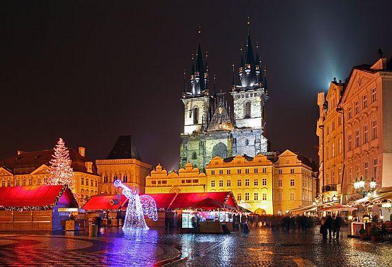 Новый год в Чехии. Прага