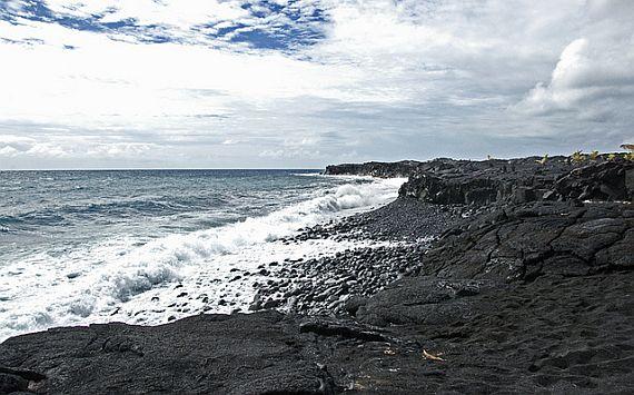 Пляж Каиму Бич на Гавайях