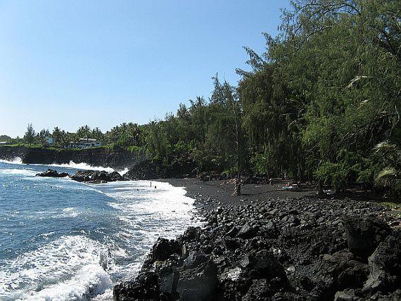 Пляж Кехена Бич на Гавайях