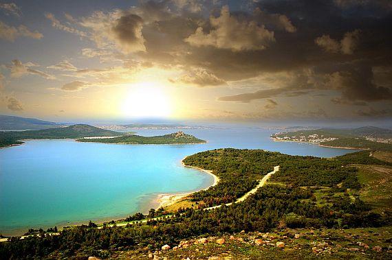 Турции курорты и пляжи эгейского моря
