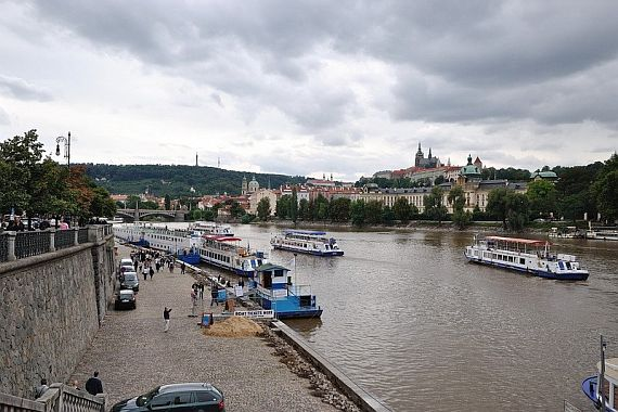 Прогулки по реке Влтава