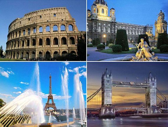 Путешествие по Европе