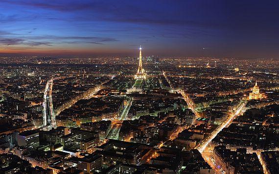Путешествие в Париж. Франция