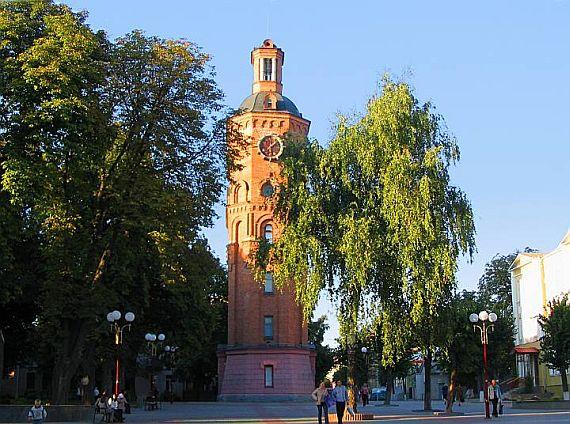 Водонапорная башня Винницы