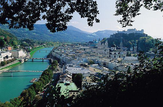 Зальцбург в Австрии - музыкальный город