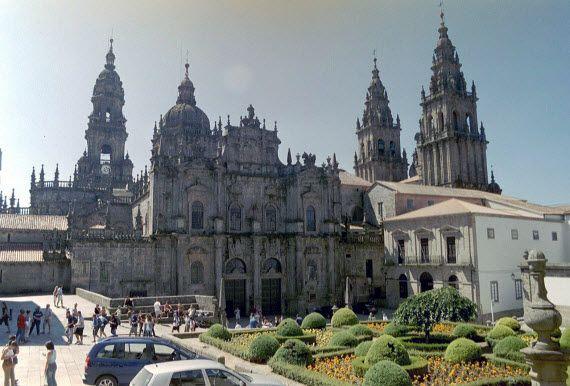 кафедральный собор в Сантьяго-де-Компостела