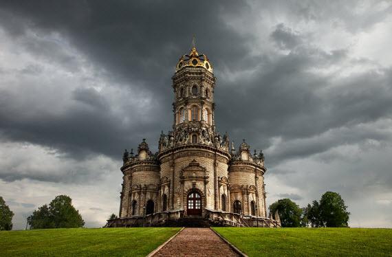 Дубровицы. Церковь Знамения Пресвятой Богородицы