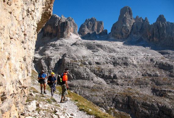 Экскурсии в Доломитовых Альпах