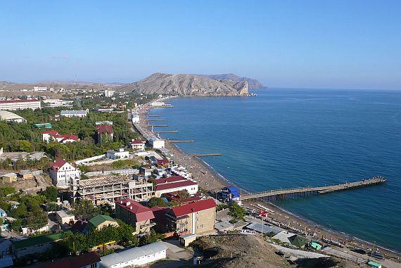 Город Судак. Крым