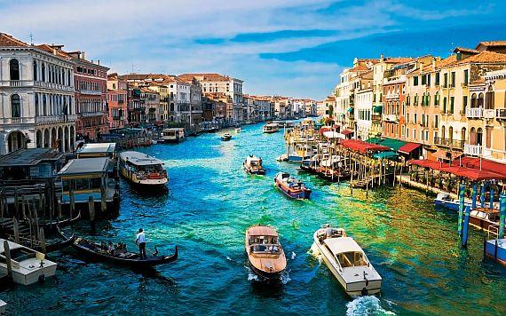 Города Италии. Венеция