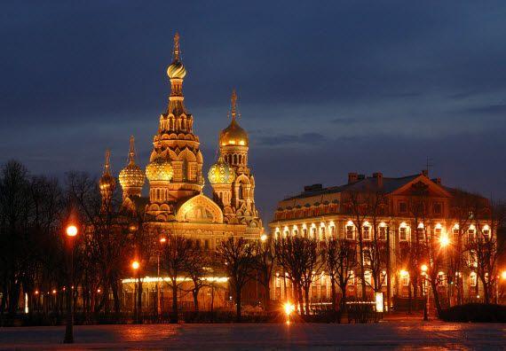 Красивые города России. Санкт-Петербург