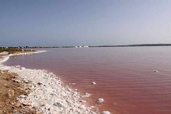 Озеро Салинас де Торревьеха