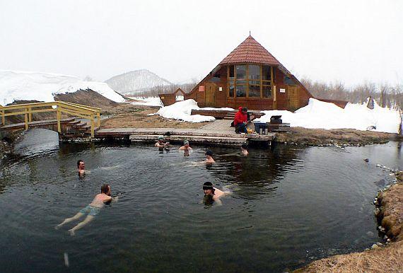 Термальные источники Камчатки