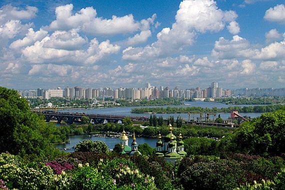 Туристические города Украины. Киев