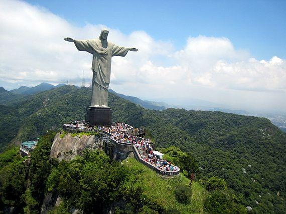 Бразилия статуя Христа