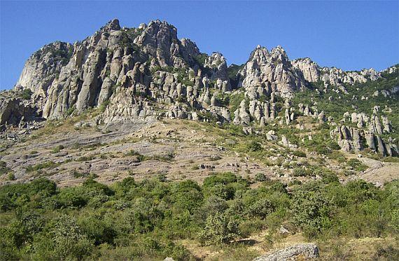 Долина привидений в Крыму