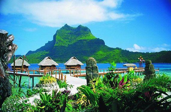Фото острова Бора Бора