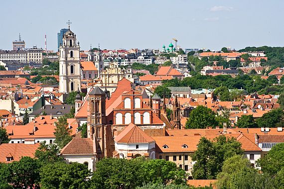 Литва. Город Вильнюс