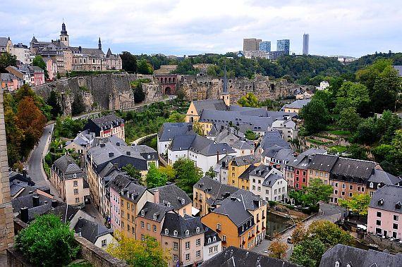 Люксембург столица