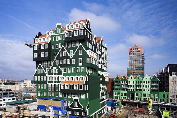 Отель в Голландии, Заандам