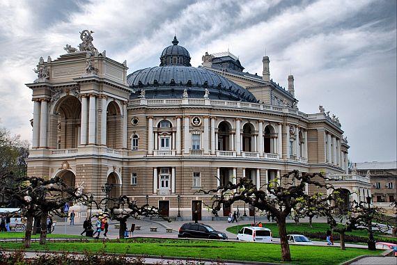 Театр оперы и балета в Одессе