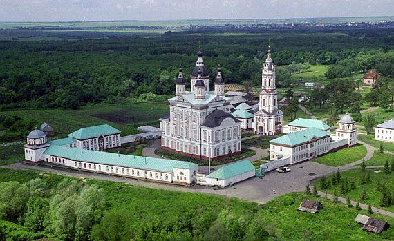Троице-Сканов монастырь в Пензе