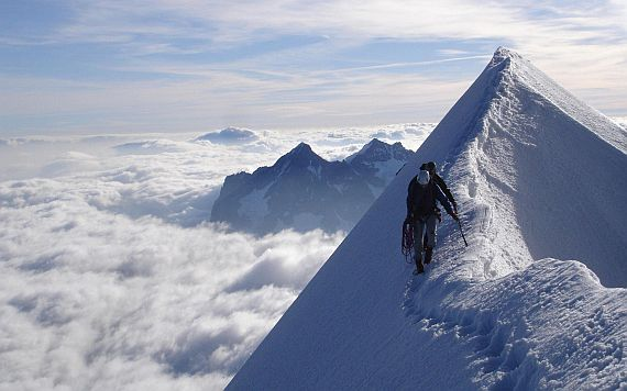 Альпинизм - активный вид отдыха