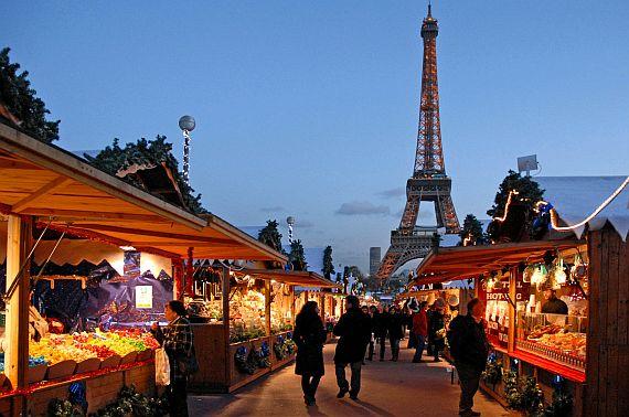 Франция зимой, рождественские ярмарки