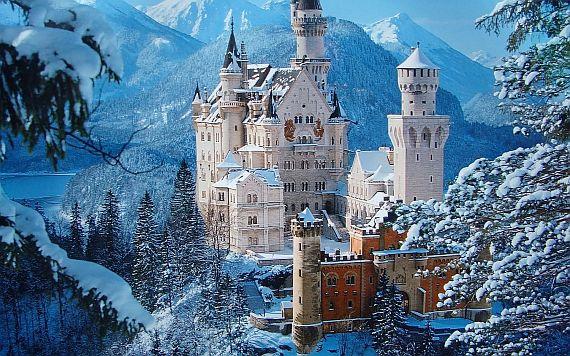 Германия, отдых зимой