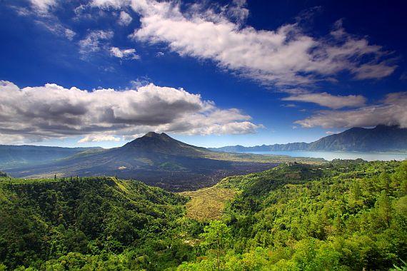 Гора Батур на Бали