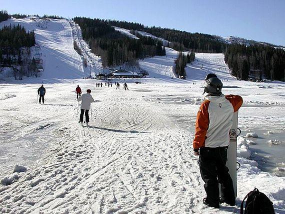 Катания на лыжах в Финляндии