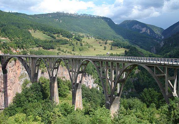 Мост Джурджевича в Черногории