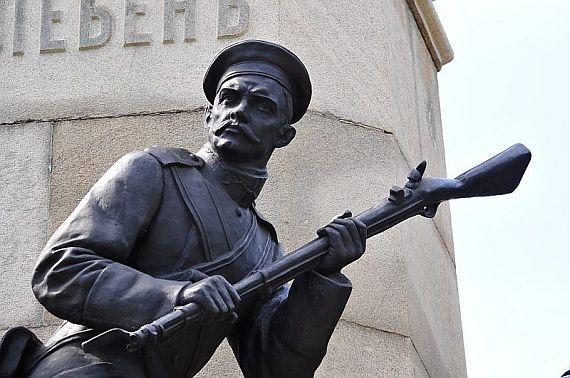 Памятник Тотлебену Севастополь