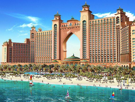 Пляжный отдых в ОАЭ