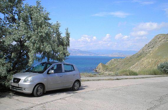 Путешествие на автомобиле в Крым