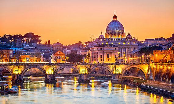 Свадебное путешествие, Рим