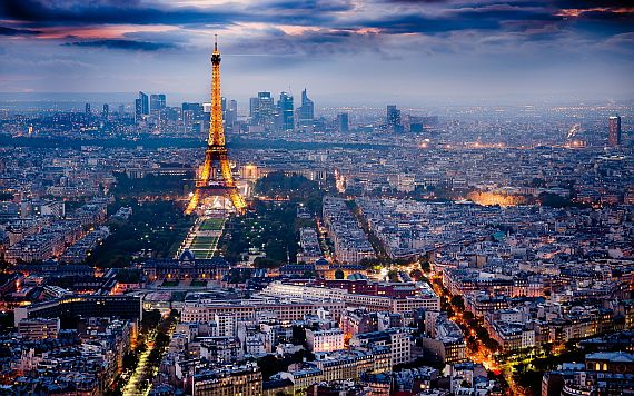 Зимняя Франция
