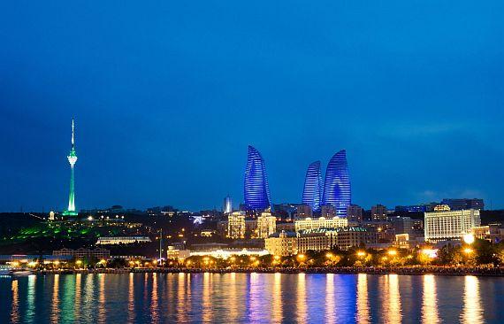 Азербайджан. Город Баку